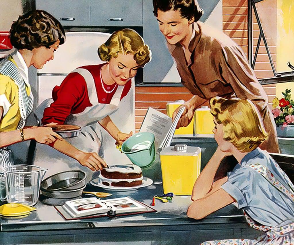 Открытки уборка готовка, днем рождения
