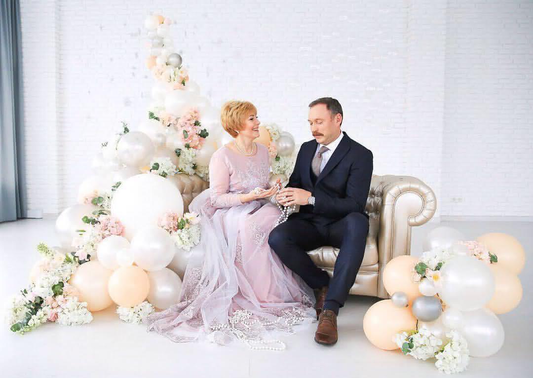 Свадебные юбилейные фотосессии